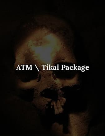 ATM\Tikal Travel Packages