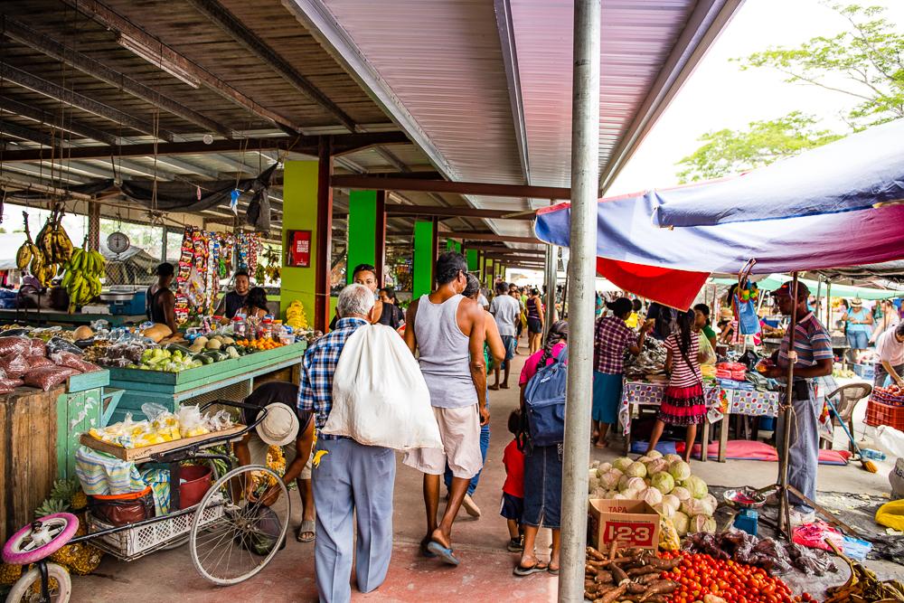Market in San Ignacio