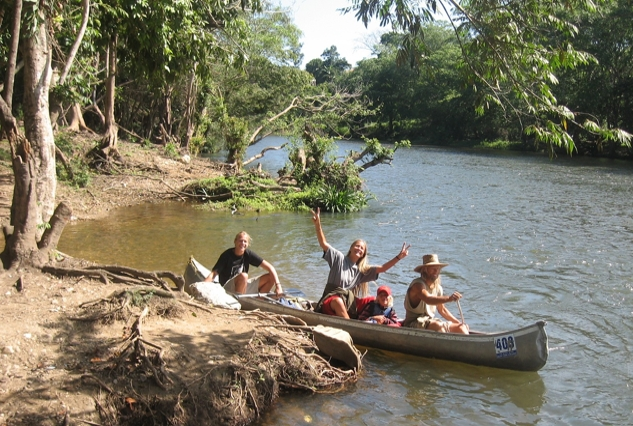 river tubing and river canoe tours