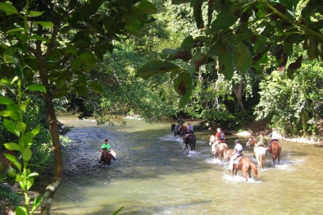 Belize tours on horse