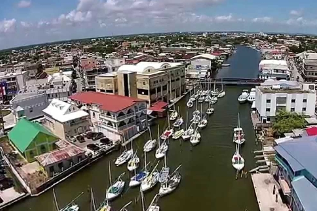 Belize City Yacht port