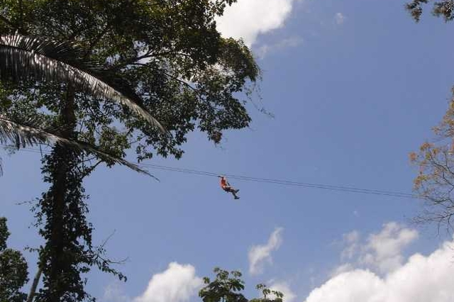 Zip Line Belize