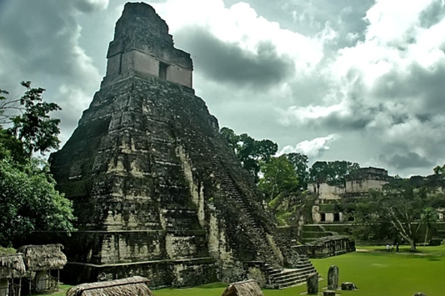Belize Tikal Temple