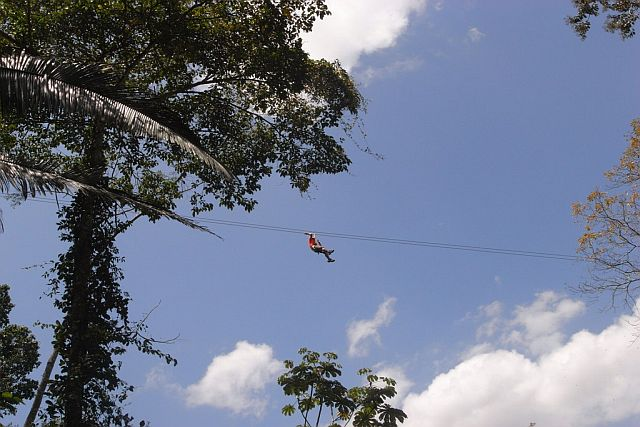Zipline - Tours in The West of Belize